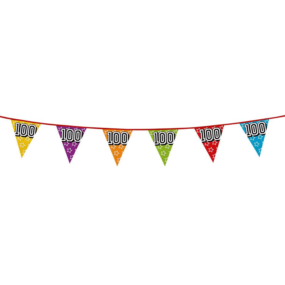 100 jaar vlaggenlijn glitters