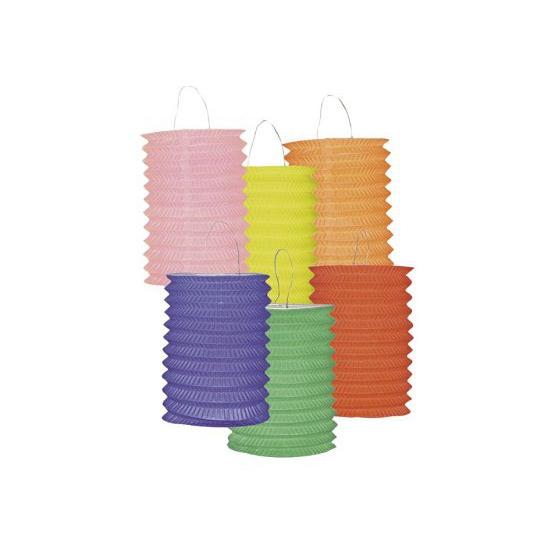 12 papieren lantaarns