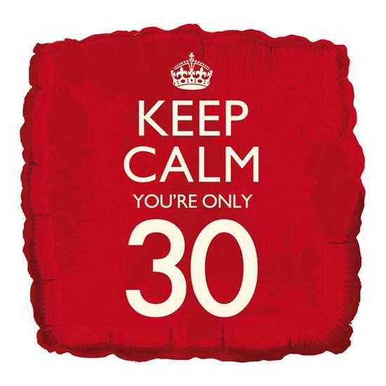 30e verjaardag helium ballon