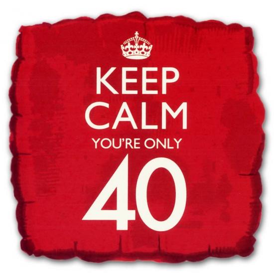 40e verjaardag helium ballon