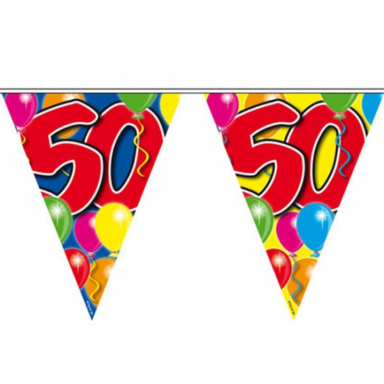 50 jaar vlaggenlijnen