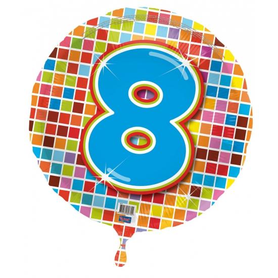 8 jaar folieballon