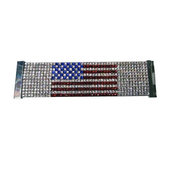 Amerikaanse armband met glitters