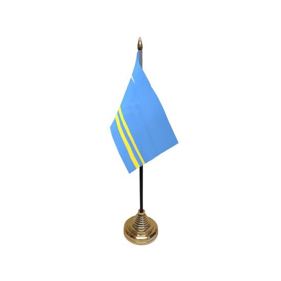 Aruba tafelvlaggetje inclusief standaard