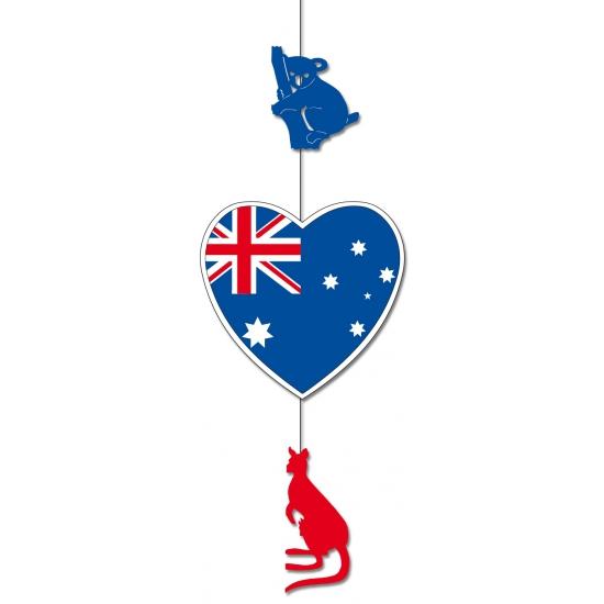 Australie feestversiering hangend 85 x 30 cm