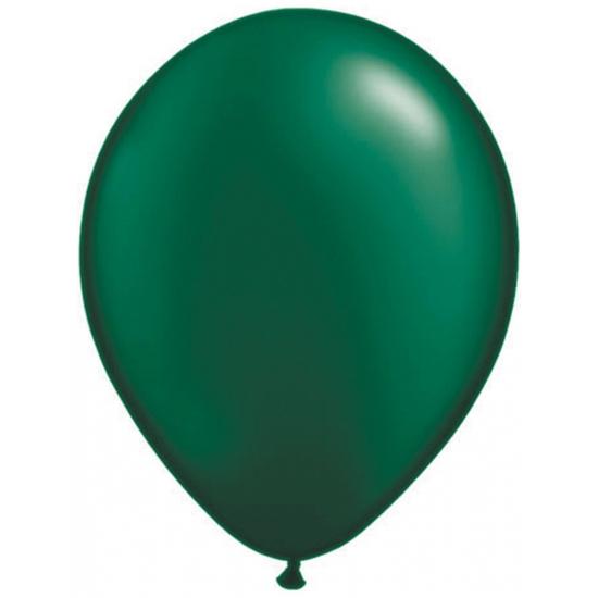 Ballonnen Qualatex donker groen