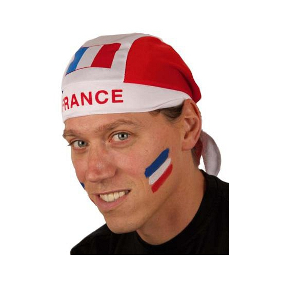 Bandana met Franse vlag