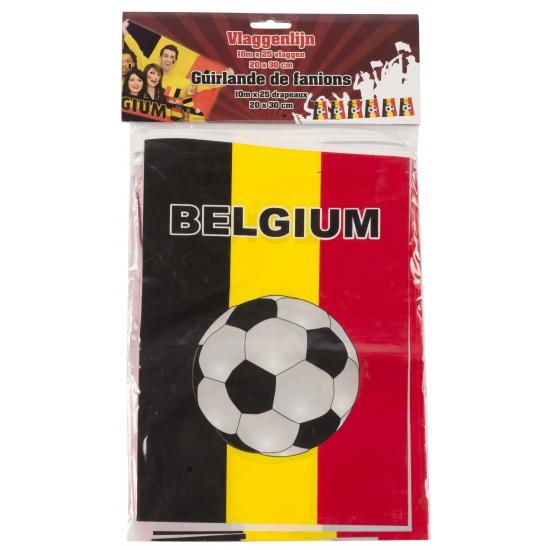 Belgie versiering vlaggenlijn 10 m