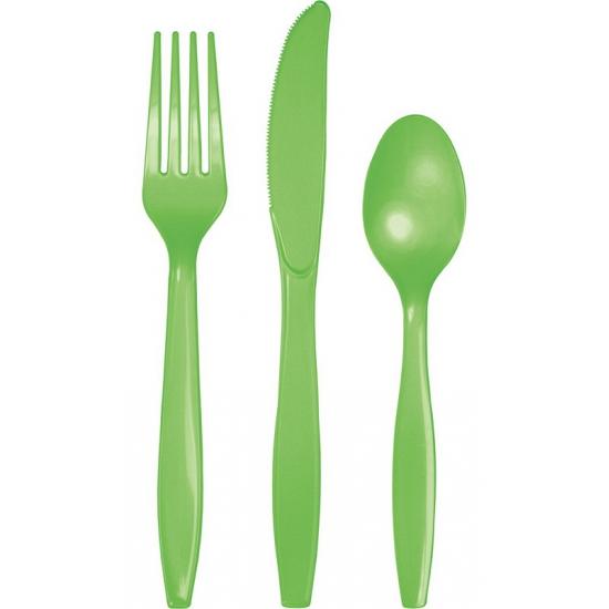 Bestek in het groen 24 delig