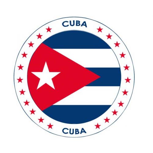 Bierviltjes Cuba thema print