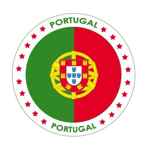 Bierviltjes Portugal thema print