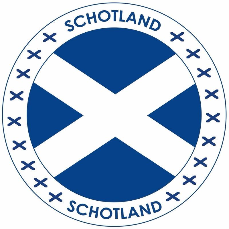 Bierviltjes Schotland thema print