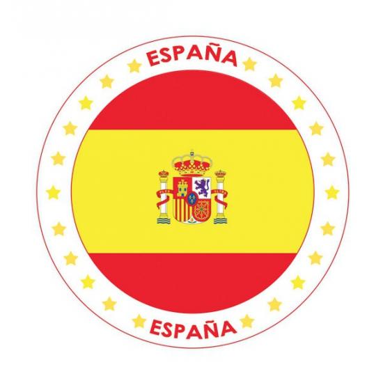 Bierviltjes Spanje thema print
