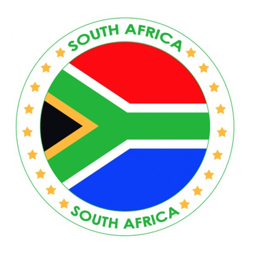 Bierviltjes Zuid Afrika thema print