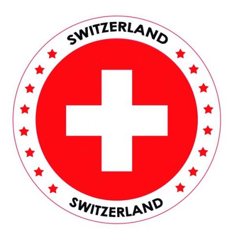 Bierviltjes Zwitserland thema print