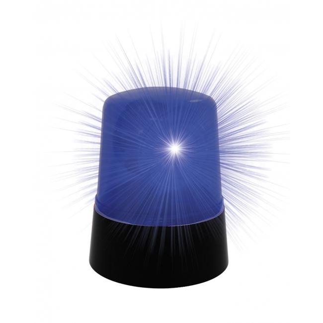 Blauwe lamp voor politieauto