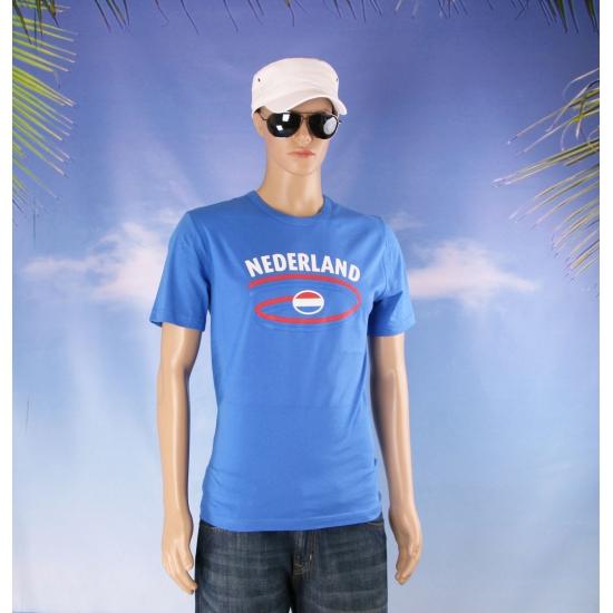 Blauwe Nederland heren shirts