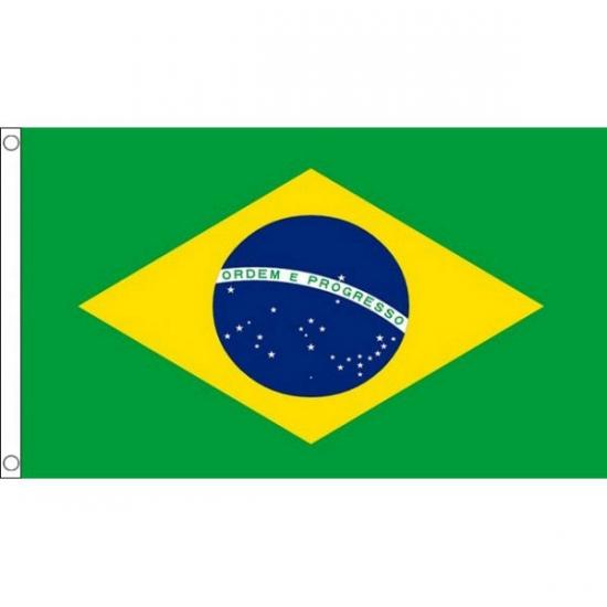 Braziliaanse mega vlag 150 x 240 cm
