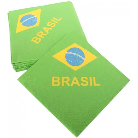 Braziliaanse servetjes 33 x 33 cm