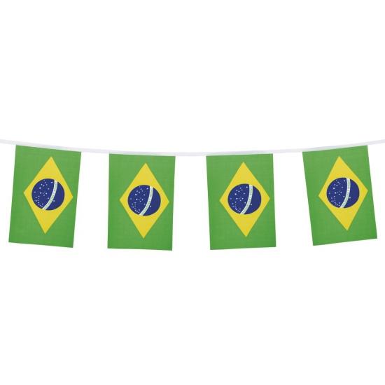 Brazilie versiering slinger 4 meter
