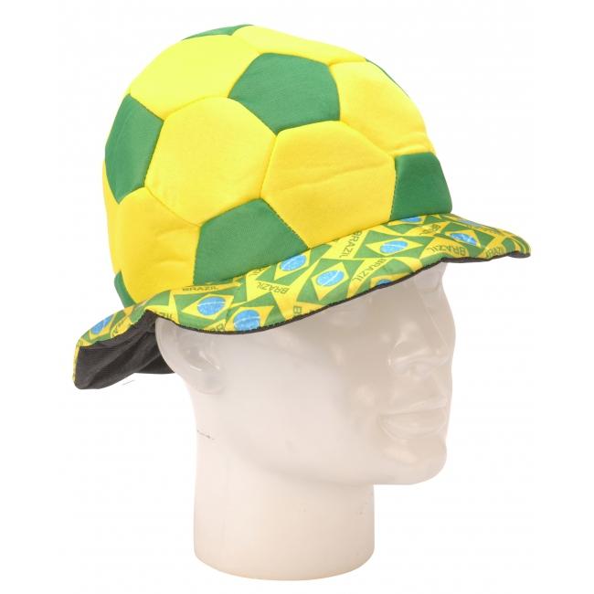 Brazilie voetbalhoed 18 cm