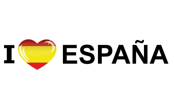 Bumper sticker I Love Espana