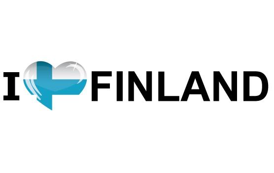 Bumper sticker I Love Finland