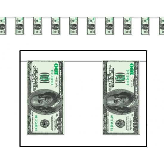 Casino feest slinger met dollars