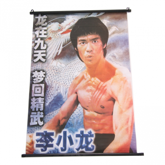 Chinese decoratie poster Bruce Lee