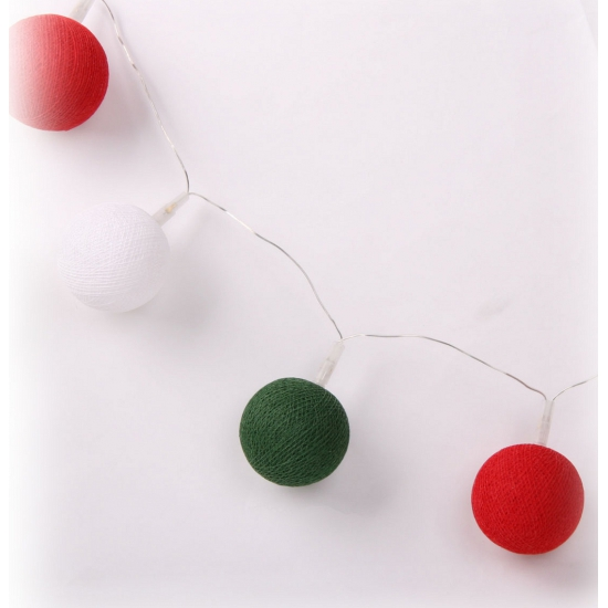 Cotton Balls Italie lichtsnoer 5.28 meter