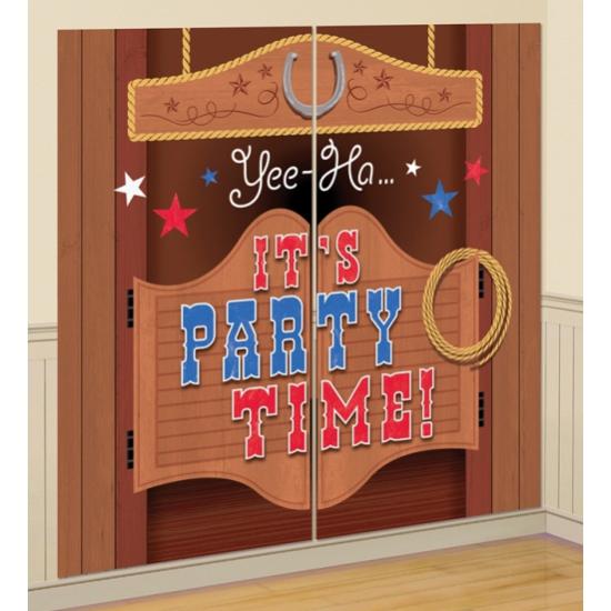 Cowboy party decoratie 165 cm