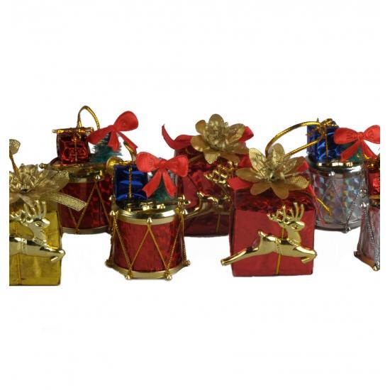 Decoratie cadeautjes 4 stuks