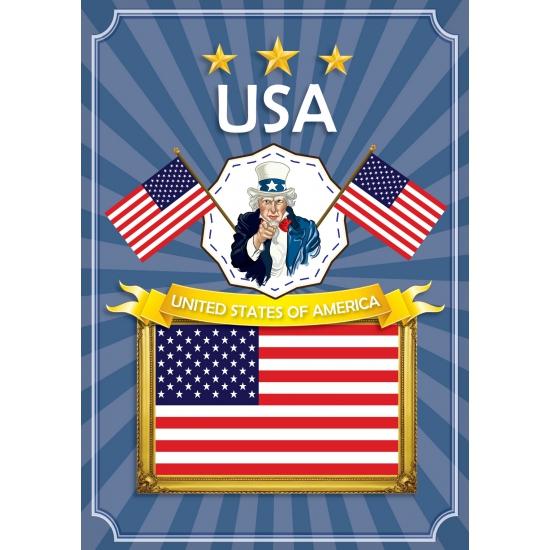 Deurposter United States of America