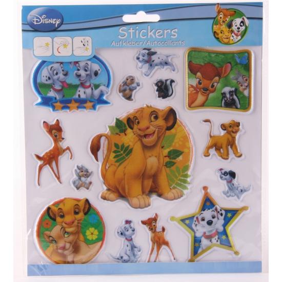 Disney 3D kinderstickers dieren