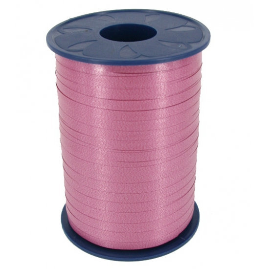 Donker roze krullint 500 meter