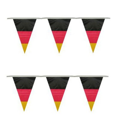 Duitse slinger vlaggetjes 10 meter