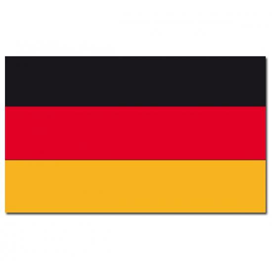 Duitse vlag 90x150 cm