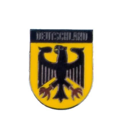 Duitse vlag met adelaar pin