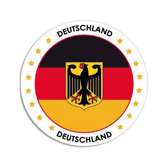 Duitsland stickers
