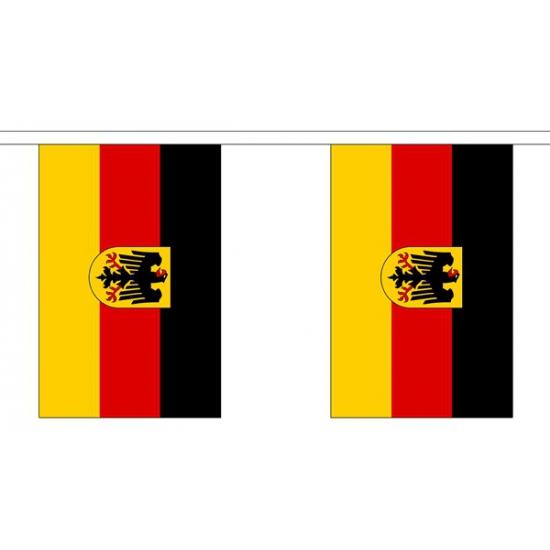 Duitsland vlaggenlijn van stof 3 m