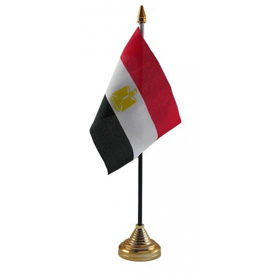 Egypte tafelvlaggetje inclusief standaard