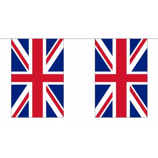 Engelse vlaggenlijnen deluxe