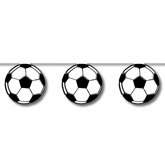 Feestversiering voetbal slinger 5 meter