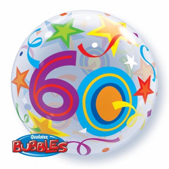 Folie ballon 60 jaar 56 cm