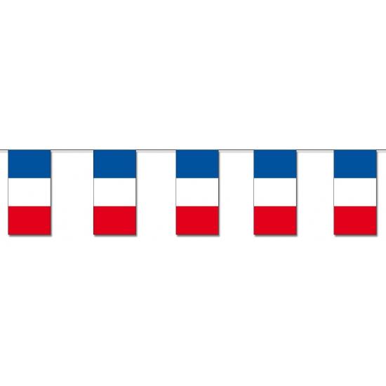 Frankrijk slinger van papier 4 m