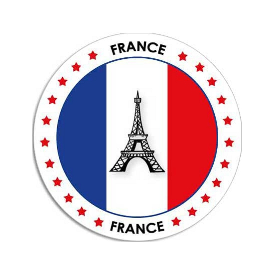 Frankrijk sticker