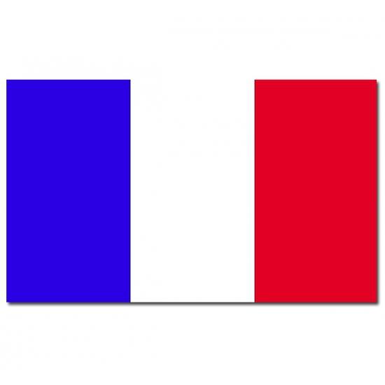 Frankrijk vlag 90 x 150 cm