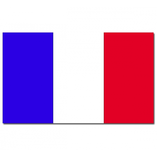 Frankrijk vlaggen 90 x 150 cm