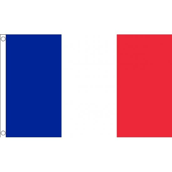 Franse vlag mini 60 x 90 cm