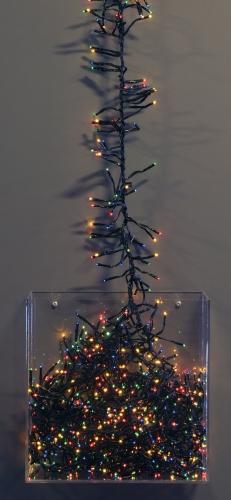 Gekleurde kerstboom verlichting 768 lampjes